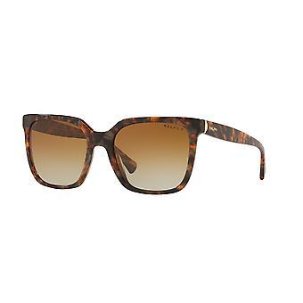 Ralph von Ralph Lauren RA5251 5738T5 Braun Murble/Brown Gradient Braun polarisierte Sonnenbrille