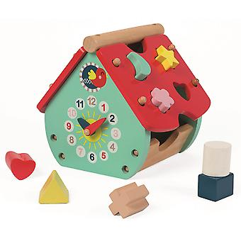 Janod Baby Forest House Shape Sorter