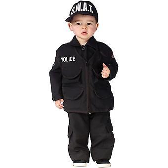 Swat Police Toddler Costume
