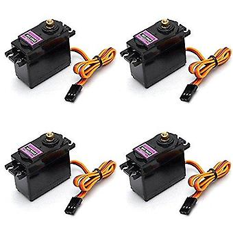 GSS MG996R pack 4 Metal Gear Digital Torque Servos Micro for Rc Car Helicopter Boat Car