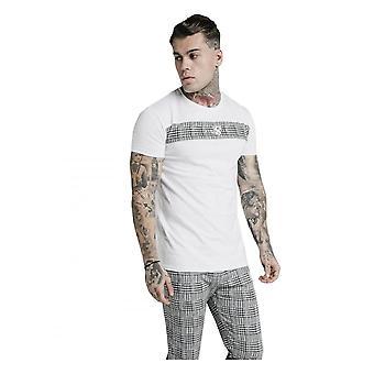 Sik Silk Ss Panel Smart Tee White