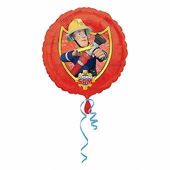 Amscan Fireman Sam pyöreä folio ilma pallo