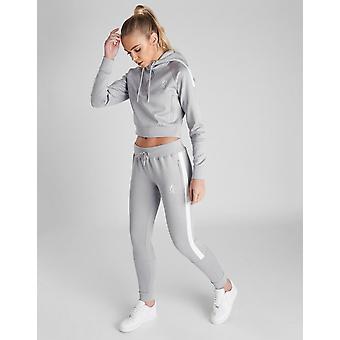 New Gym King Women's  Poly Panel Joggers Grey