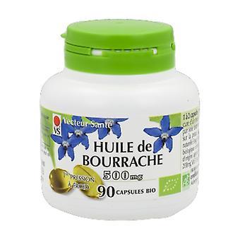 Borage oil 500 mg Bio 90 capsules