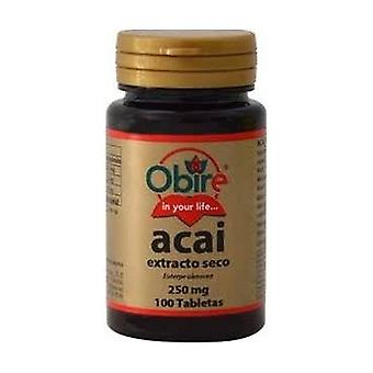 Acai (Dry Ext 250 mg) 100 1000mg tabletten
