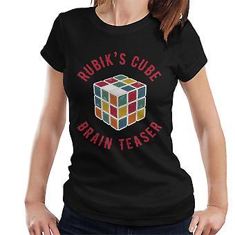 Rubik's Cube Brain Teaser Women's T-Shirt