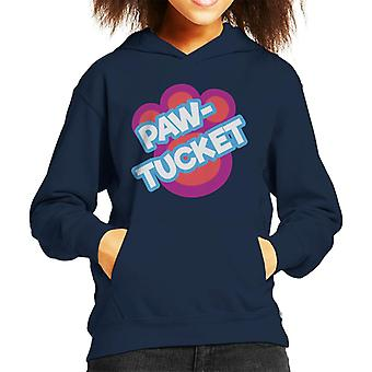 Littlest Pet Shop Paw Tucket Paw Kid's Hooded Sweatshirt