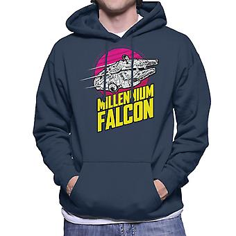 Star Wars Flying Millennium Falcon miehet ' s huppari