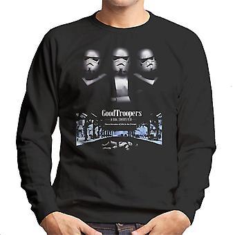 Original Stormtrooper GoodTroopers Mafia Parody For Dark Men's Sweatshirt