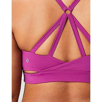 Core 10 Women's Icon Series - The Ballerina Plus Size Sports Bra, violet, 1X