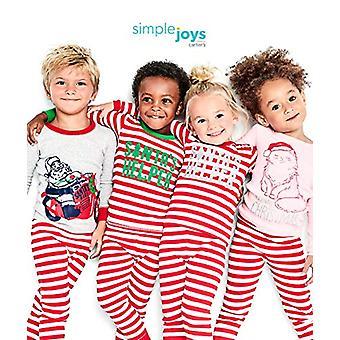 Simple Joys af Carter's Boys' Toddler 3-Piece Snug-Fit Cotton Christmas Pajam...