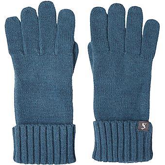 Joules Womens Snowday Soft Knit Tricoté Gants d'hiver