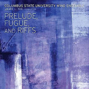Columbus State University Wind Ensemble - Perlude Fugue & Riffs [CD] USA import
