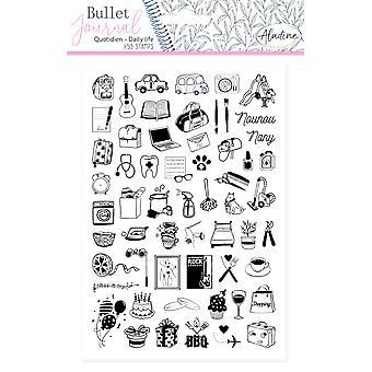 Aladine Bullet Journal Foam Timbres Quotidien