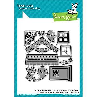 Lawn Fawn Build-a-House Halloween Add-on Dies