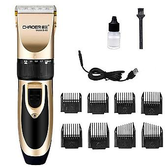 Hair Trimmer Rechargeable Professional Electric Hair Clipper