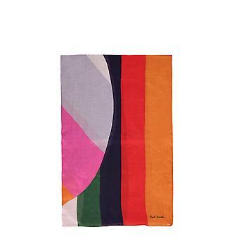 Paul Smith W1a408fes0720 Women's Multicolor Viscose Sjaal