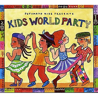 Putumayo Kids - Kids World Party [CD] USA import