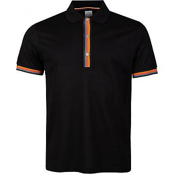 Paul Smith Künstler Streifen Polo Shirt