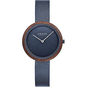 Obaku Trae Lille Marine Women's Wristwatch V245LXLLML