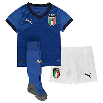 Puma Kinder Italien Home Mini Kit 2020 Fußball Shirt Shorts Socken dryCELL Replica