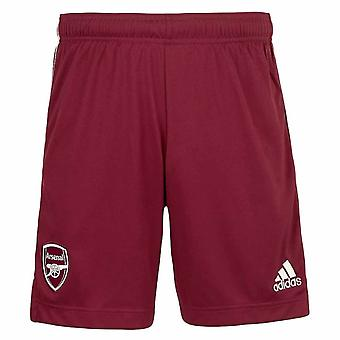 2020-2021 Arsenal Adidas Away Shorts Maroon (Copii)