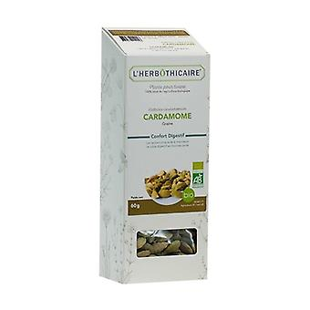 Cardamone biologisch zaad 60 g