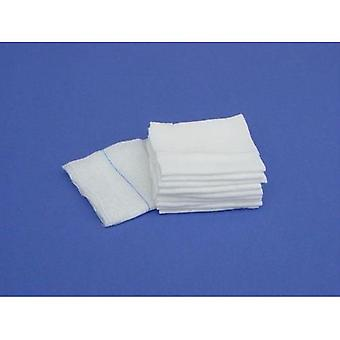 Compressas de não tecido 10 x 10 cm