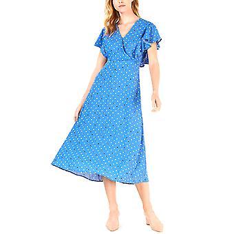 מזון ז'ול | שמלת מקסי עם גלישה מודפסת
