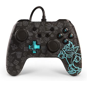 PowerA Wired Switch Controller - Crash Bandicoot