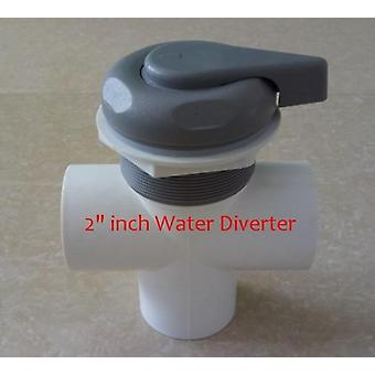 "2"" Inch Plastic Spa Water Diverter,water & Hot Tub Water Selector"