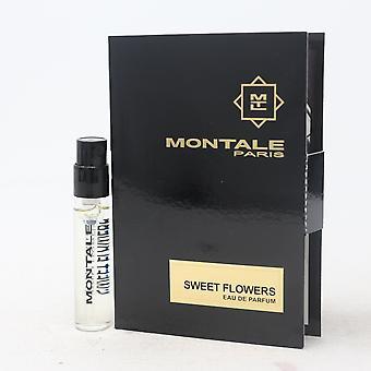 Sweet Flowers by Montale Paris Eau De Parfum Vial 0.07oz/2ml Spray New