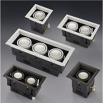 Led Cob Downlight Dimmable Ac85-265v, Recessed Ceiling Lamp Spot Light