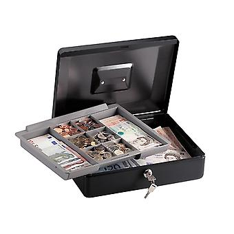 Master Lock Medium Cash Box with Keyed Lock MLKCB12ML
