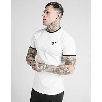 Novo SikSilk Men's Deluxe Short Sleeve T-Shirt White