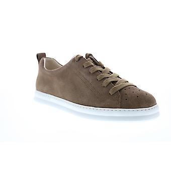 Camper Runner Four  Mens Brown Suede Euro Sneakers Shoes