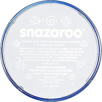 Snazaroo Halloween Fancy Dress Accessories - Classic Colours Water Based Face & Body Paint - White 18ml
