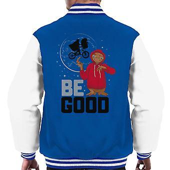 E.T. Be Good Men's Chaqueta Varsity