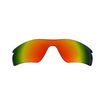 العدسات البديلة المستقطبة لـ Oakley Radar Pitch نظارات شمسية مضادة للخدش الأحمر
