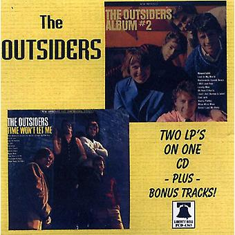 Outsiders - Time Won't Let Me/#2-2LPs/CD [CD] USA import