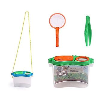 Portable Insect Observer Child Magnifier Toy - Observation Box Outdoor