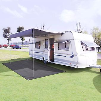 Tent carpet 300 x 500 cm anthracite