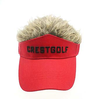 Reglabil Fake Hair, Golf Cap, Hat Wig / Hair Golf Baseball Cap