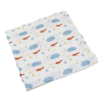 Cotton Bed-sheet, Swaddles Soft Newborns Baby Blanket Wrap-sheet