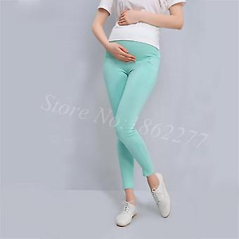 Maternity Leggings Pregnant Solid Cotton Pants/clothes Women, High Waist
