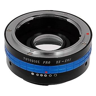 Fotodiox pro lens mount adapter compatible with mamiya ze 35mm film lenses to canon eos ef/ef-s came