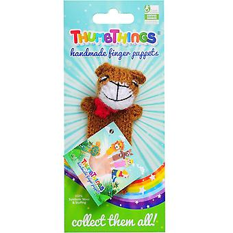Teddy Bear Finger Puppet