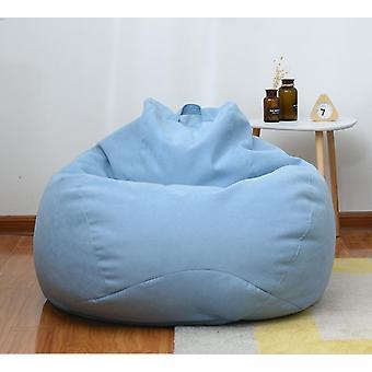 Chaises de couverture paresseuses de sofas sans siège de chaise longue en tissu de linge de remplissage