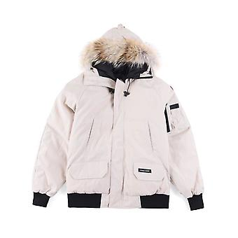 Canada Goose Mens Down Chilliwack Bomber Jacket Parka Winter Hooded Warm Coat