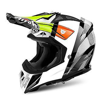 Airoh Aviator 2.2 Reemplazo de casco de motocicleta Peak Revolve Orange PEAK ONLY
